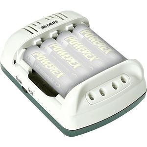 POWEREX MH-C401FS-DC CARGADOR DE BATERIAS X 4