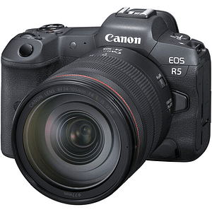 Canon EOS R5 Mirrorless Cámara Digital con Lente 24-105mm f/4L