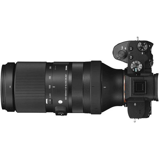 Sigma 100-400mm f/5-6.3 DG DN OS Contemporary Lente para Sony E - Image 3