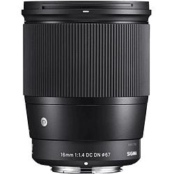 Sigma 16mm f/1.4 DC DN Contemporary Lente para Sony E
