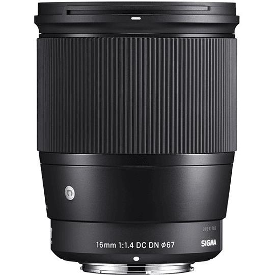 Sigma 16mm f/1.4 DC DN Contemporary Lente para Sony E - Image 1