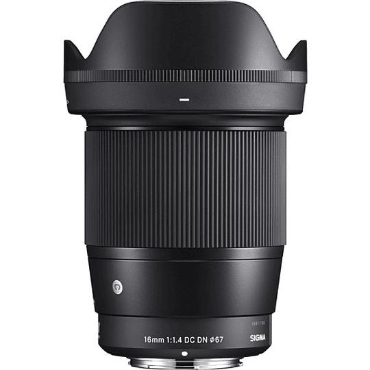 Sigma 16mm f/1.4 DC DN Contemporary Lente para Sony E - Image 2