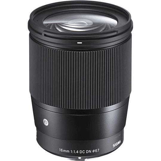 Sigma 16mm f/1.4 DC DN Contemporary Lente para Sony E - Image 3