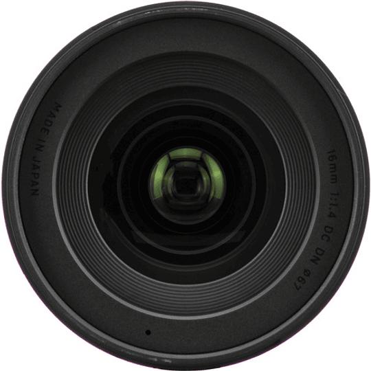 Sigma 16mm f/1.4 DC DN Contemporary Lente para Sony E - Image 6
