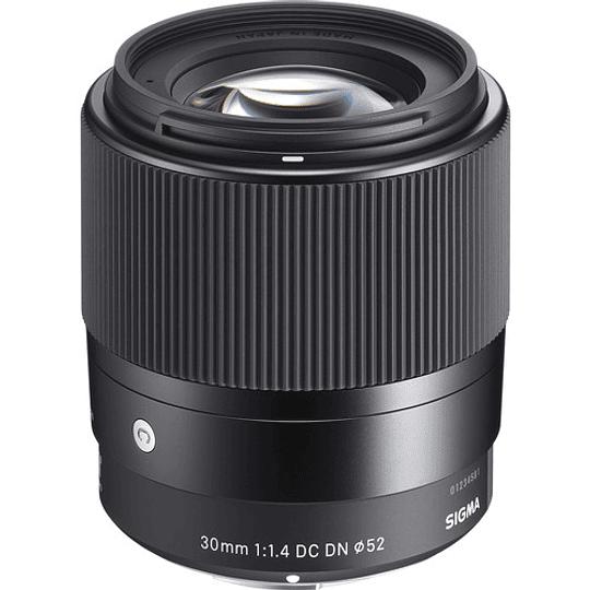 Sigma 30mm f/1.4 DC DN Contemporary Lente para Sony E - Image 1