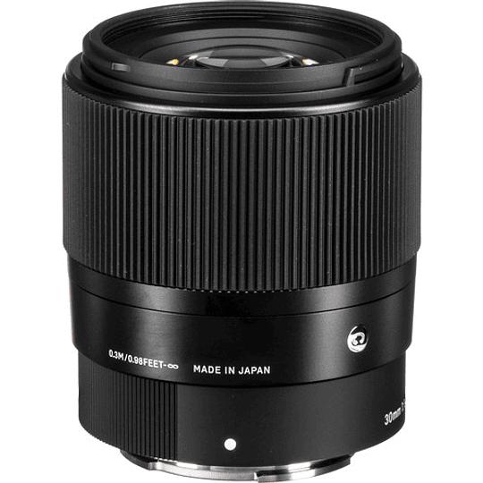 Sigma 30mm f/1.4 DC DN Contemporary Lente para Sony E - Image 6
