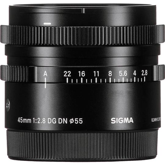 Sigma 45mm f/2.8 DG DN Contemporary Lente para Sony E - Image 3