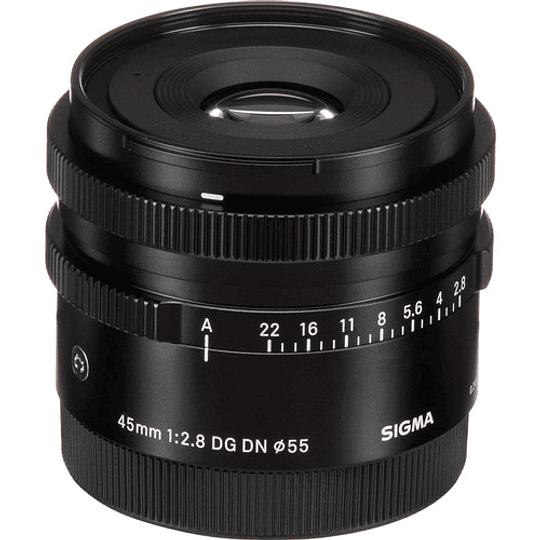 Sigma 45mm f/2.8 DG DN Contemporary Lente para Sony E - Image 7