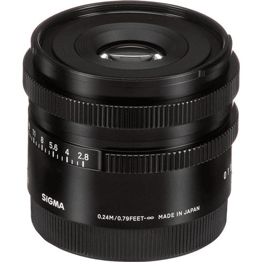 Sigma 45mm f/2.8 DG DN Contemporary Lente para Sony E - Image 8