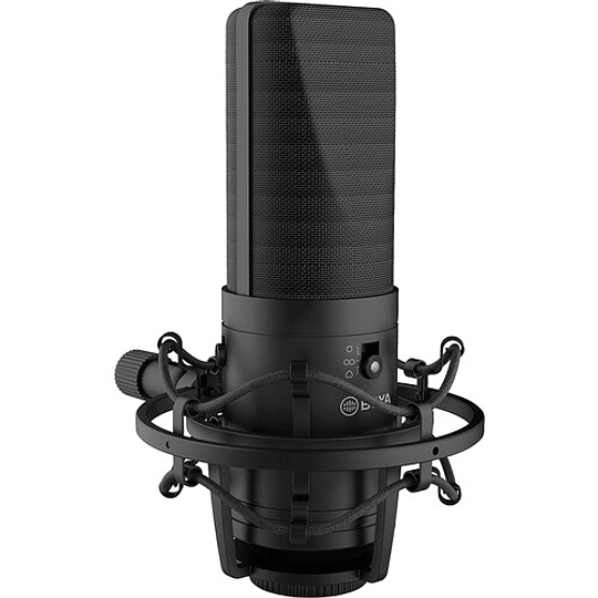 BOYA BY-M1000 Micrófono Condensador de Estudio Multipatrón de Gran Diafragma - Image 5