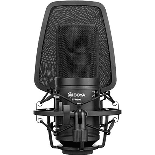 BOYA BY-M800 Micrófono Condensador de Estudio de Gran Diafragma - Image 3