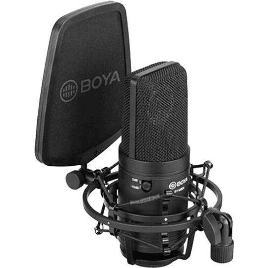 BOYA BY-M800 Micrófono Condensador de Estudio de Gran Diafragma - Image 4