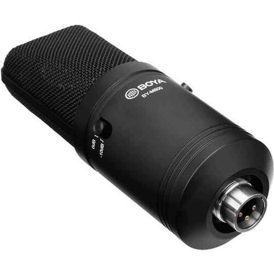 BOYA BY-M800 Micrófono Condensador de Estudio de Gran Diafragma - Image 5