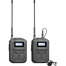 BOYA BY-WM6S Sistema de Micrófono Omni Lavalier Wireless para Cámaras (556 to 576 MHz)