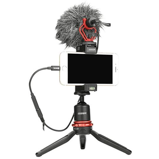 BOYA BY-K3 Cable Adaptador Hembra TRRS de 3,5mm a Lightning (2,4