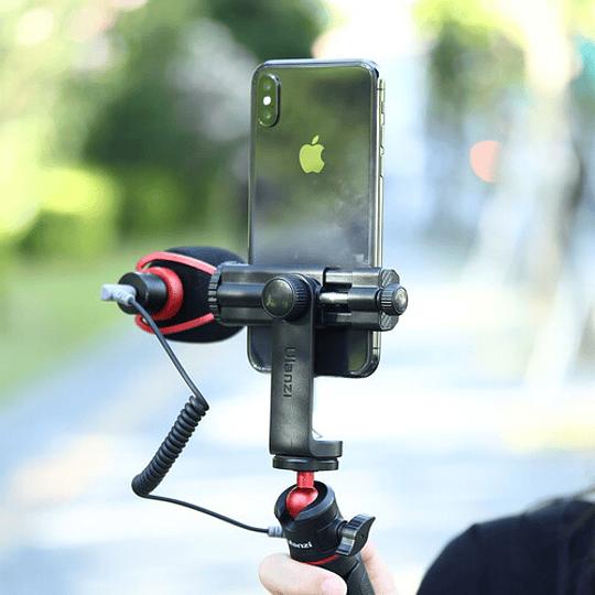 Ulanzi ST-17 Soporte para Smartphone en Trípode con Giro en 360º - Image 6