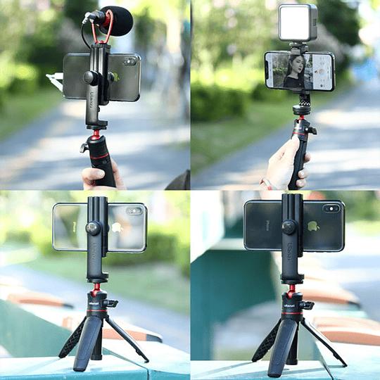 Ulanzi ST-17 Soporte para Smartphone en Trípode con Giro en 360º - Image 7