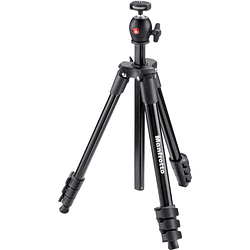 Manfrotto Compact Light BLACK Trípode Portátil