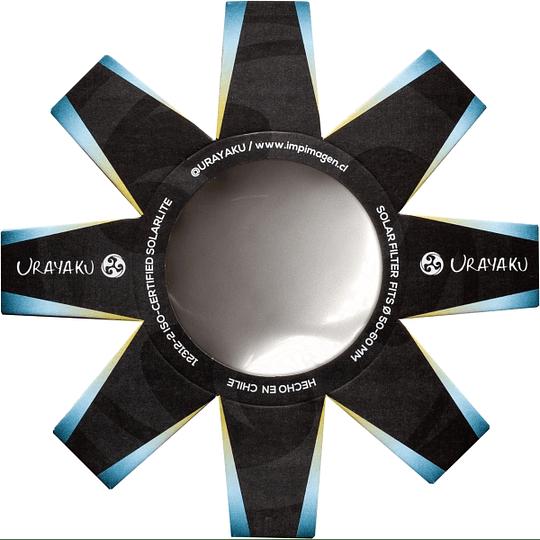 URAYAKU U-52/65 FILTRO PARA ECLIPSE SOLAR DIAMETRO DE 52 A 65MM - Image 1
