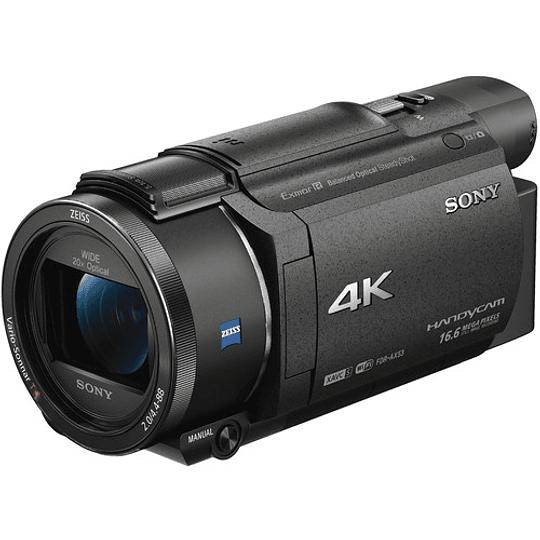 Sony FDR-AX53 4K Ultra HD Handycam Camcorder - Image 1