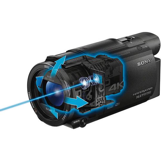 Sony FDR-AX53 4K Ultra HD Handycam Camcorder - Image 10