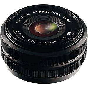 FUJIFILM XF 18mm f/2 R Lente