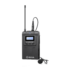 BOYA TX8 PRO – Transmisor y Micrófono de Solapa para la Línea WM8 Pro