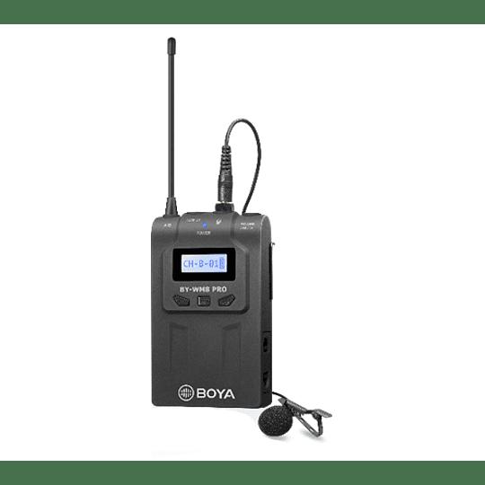 BOYA TX8 PRO – Transmisor y Micrófono de Solapa para la Línea WM8 Pro - Image 1