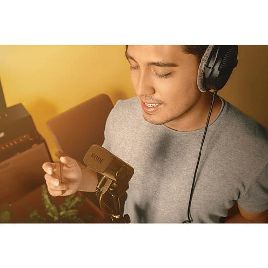 Rode NT-USB Mini USB Micrófono de Sobremesa con Calidad de Estudio - Image 10
