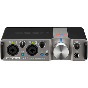 Zoom UAC-2 USB 3.0 Interfaz de Audio