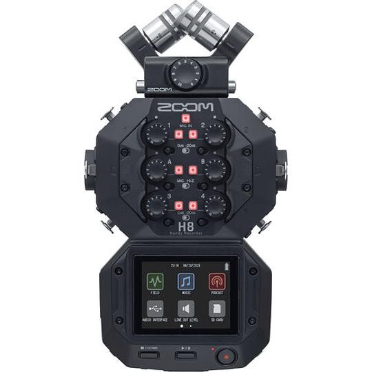 Zoom H8 Grabador de Mano Portátil de 8 Entradas / 12 Pistas - Image 1