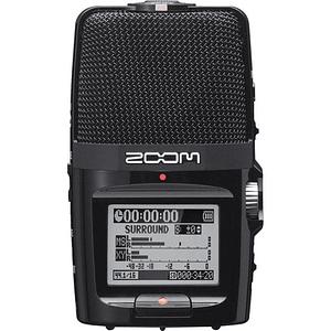 Zoom H2n Grabador de Mano Portátil de 2 Entradas / 4 Pistas con Matriz de 5 Micrófonos Integrada