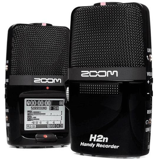 Zoom H2next Grabador de Mano Portátil de 2 Entradas / 4 Pistas con Matriz de 5 Micrófonos Integrada - Image 2