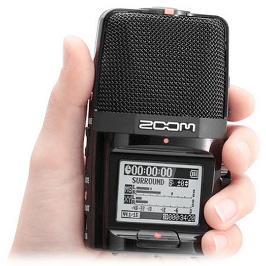 Zoom H2next Grabador de Mano Portátil de 2 Entradas / 4 Pistas con Matriz de 5 Micrófonos Integrada - Image 4