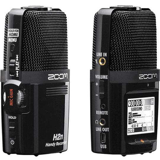 Zoom H2next Grabador de Mano Portátil de 2 Entradas / 4 Pistas con Matriz de 5 Micrófonos Integrada - Image 7