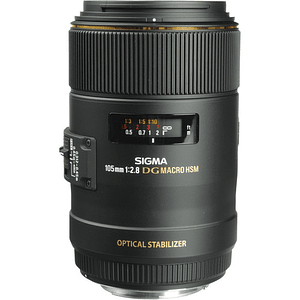 Sigma 105mm f/2.8 EX DG OS HSM Macro Lente para Canon EF