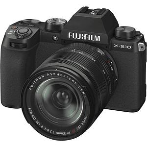 FUJIFILM X-S10 Kit Cámara Digital Mirrorless con Lente 18-55mm