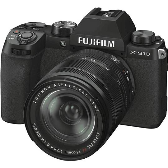 FUJIFILM X-S10 Kit Cámara Digital Mirrorless con Lente 18-55mm - Image 1