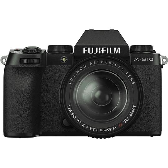 FUJIFILM X-S10 Kit Cámara Digital Mirrorless con Lente 18-55mm - Image 3