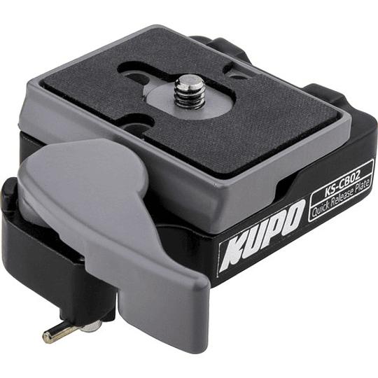 KUPO KS-CB02 Quick Release Conector Rápido de Placa 200PL - Image 1