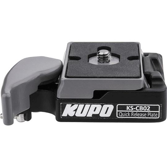 KUPO KS-CB02 Quick Release Conector Rápido de Placa 200PL - Image 2