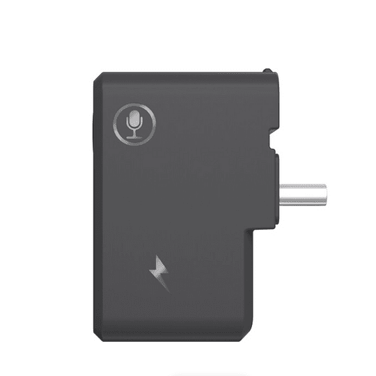 CYNOVA Adaptador de micrófono de 3,5mm con entrada de carga para Insta360 ONE X2 - Image 3