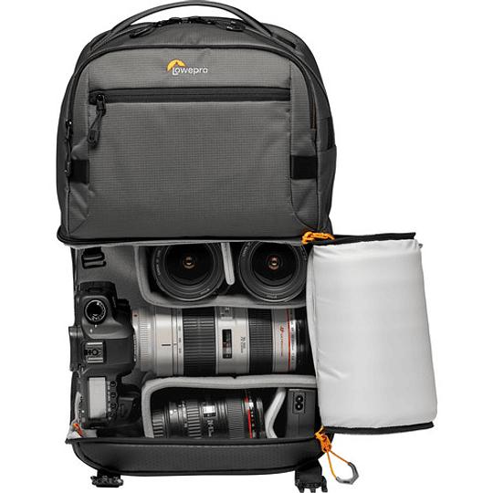 Lowepro Fastpack Pro BP 250 AW III (Gray) Mochila para Equipo Fotográfico - Image 5