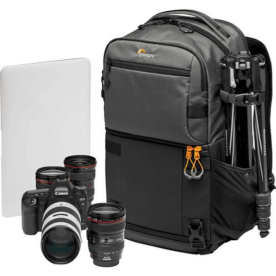 Lowepro Fastpack Pro BP 250 AW III (Gray) Mochila para Equipo Fotográfico / LP37331 - Image 10