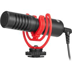 BOYA BY-MM1+ Micrófono Shotgun Ultracompacto para Cámaras y Smartphones
