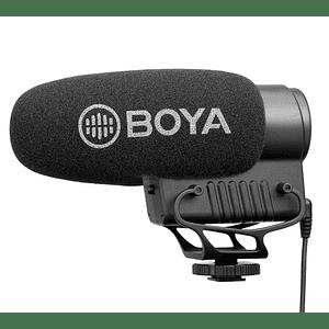 BOYA BY-BM3051S Micrófono Shotgun de Condensador Stereo/Mono
