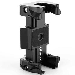 Ulanzi ST-15 Quick Release 2 en 1 - Plato Arca Swiss y Soporte para Smartphone en Trípode