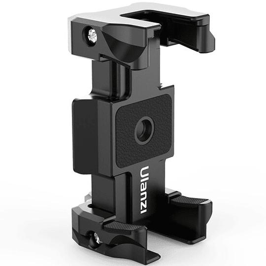 Ulanzi ST-15 Quick Release 2 en 1 - Plato Arca Swiss y Soporte para Smartphone en Trípode - Image 1