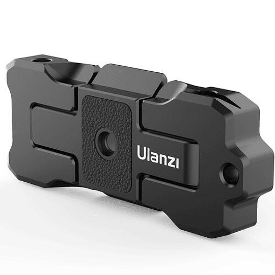 Ulanzi ST-15 Quick Release 2 en 1 - Plato Arca Swiss y Soporte para Smartphone en Trípode - Image 2