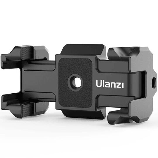 Ulanzi ST-15 Quick Release 2 en 1 - Plato Arca Swiss y Soporte para Smartphone en Trípode - Image 3
